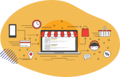 Similarities and differences between physical store and online store